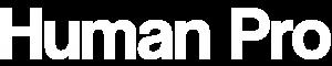 Human Pro Logo White