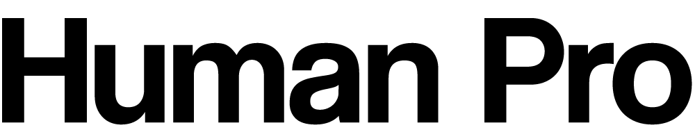 Human Pro Logo Black