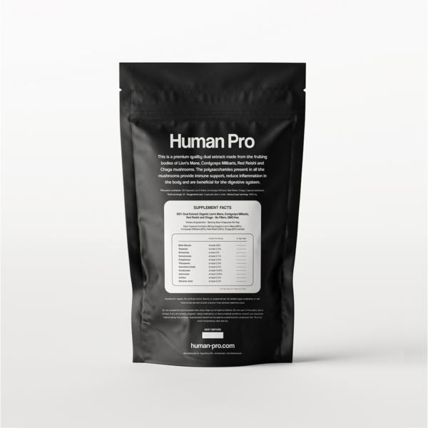 Human Pro Complex Backside